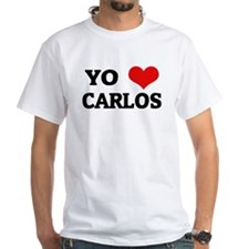 Amo (i love) Carlos White T-shirt