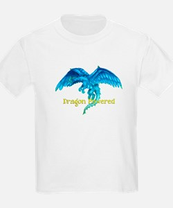 Dragon Powered Blue T-Shirt