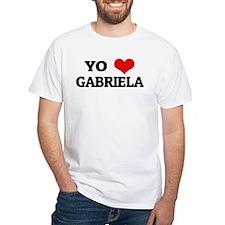 Amo (i love) Gabriela White T-shirt