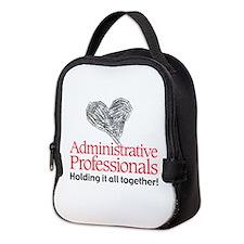 Admin Prof Together For Neoprene Lunch Bag