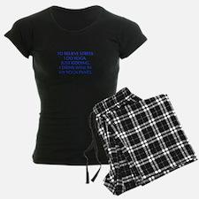 RELIEVE STRESS wine yoga pants-Opt blue Pajamas