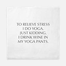 RELIEVE STRESS wine yoga pants-Opt gray Queen Duve