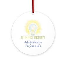 Admin Pro Shine T.png Ornament (round)