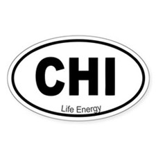 Chi Life Energy Decal