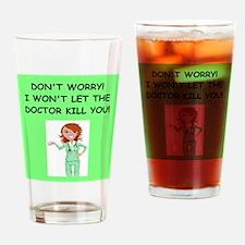 Funny Emergency medicine doctors Drinking Glass