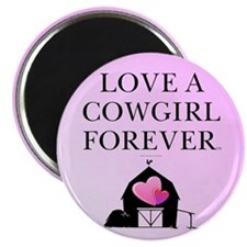 Cowgirl Love Magnet