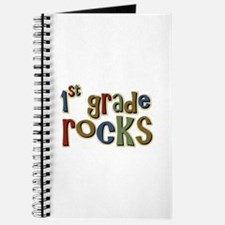 1st Grade Rocks First School Journal