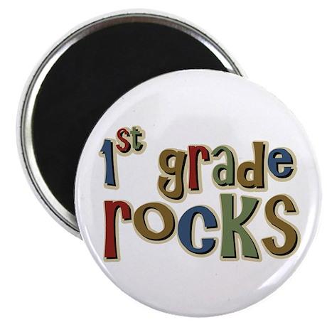 1st Grade Rocks First School Magnet