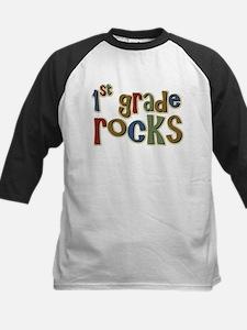 1st Grade Rocks First School Tee