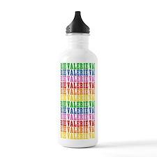 Rainbow Name Pattern Sports Water Bottle