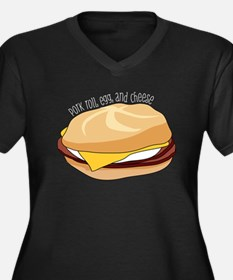 Pork Roll, Egg, and Cheese Plus Size T-Shirt