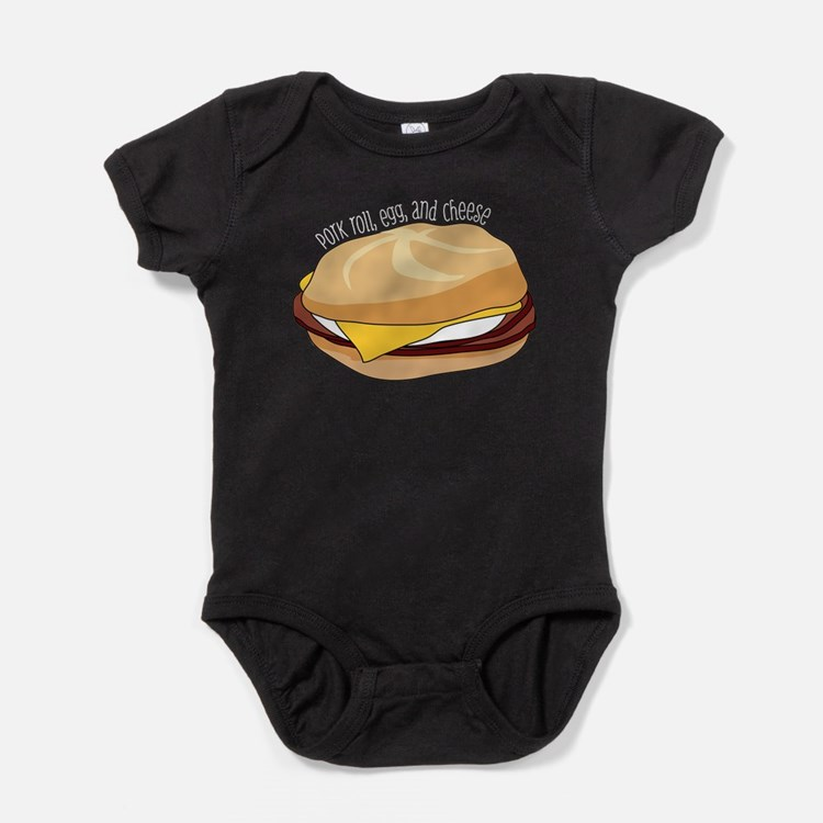 Pork Roll, Egg, and Cheese Baby Bodysuit