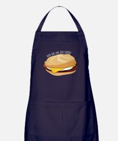 Pork Roll, Egg, and Cheese Apron (dark)