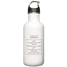 the complete concise t Water Bottle