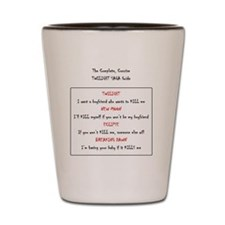 the complete concise twilight saga guid Shot Glass
