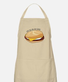 Pork Roll, Egg, and Cheese Apron