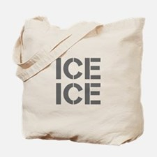 ice ice baby-Cle gray Tote Bag