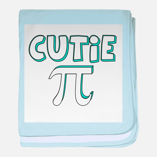 Cute Math baby blanket