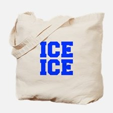 ice ice baby-Fre blue Tote Bag