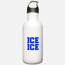 ice ice baby-Fre blue Water Bottle
