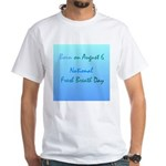 White T-shirt: Fresh Breath Day