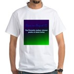 White T-shirt: Perseids meteor shower peaks at daw