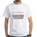 White T-shirt: French Third Republic, a republican