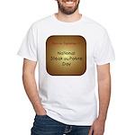 White T-shirt: Steak au Poivre Day