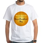 White T-shirt: Buy a Doughnut Day