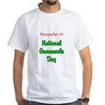 White T-shirt: Guacamole Day