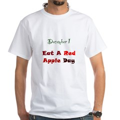 Shirt: Eat A Red Apple Day