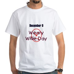 White T-shirt: Weary Willie Day