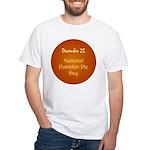 White T-shirt: Pumpkin Pie Day