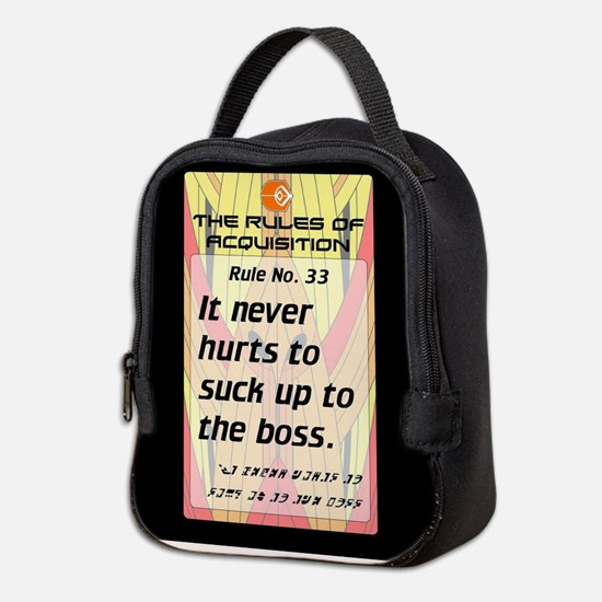 FERENGI RULES 33 Neoprene Lunch Bag