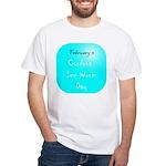 White T-shirt: Cordova Ice Worm Day