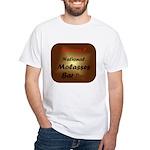 White T-shirt: Molasses Bar Day