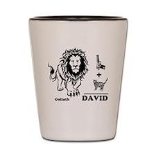 DAVE -n- GOLY Shot Glass