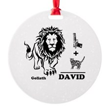 DAVE -n- GOLY Ornament