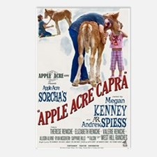 """Apple Acre Capra """"Muse"""" G Postcards (Package of 8)"""