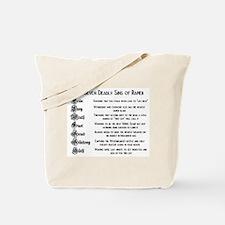 7sins.png Tote Bag