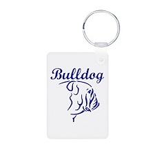 BULLDOG (both sides) Keychains