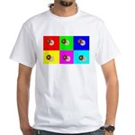 Andy Warhola Bagels White T-Shirt