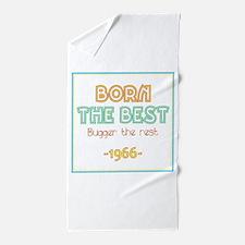 Born the Best 1966 Beach Towel