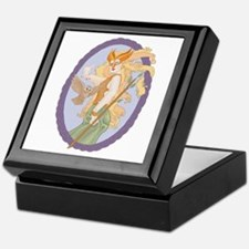 Grey Eyed Athena Keepsake Box