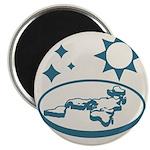 Monochrome Logo Magnets