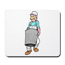 Trash Collector Mousepad
