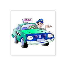 Taxi Driver Sticker