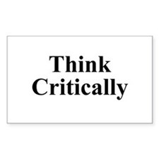 Think Critic Decal