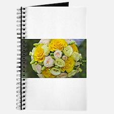 Unique Yellow wedding Journal