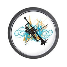 Urban Trumpet Wall Clock